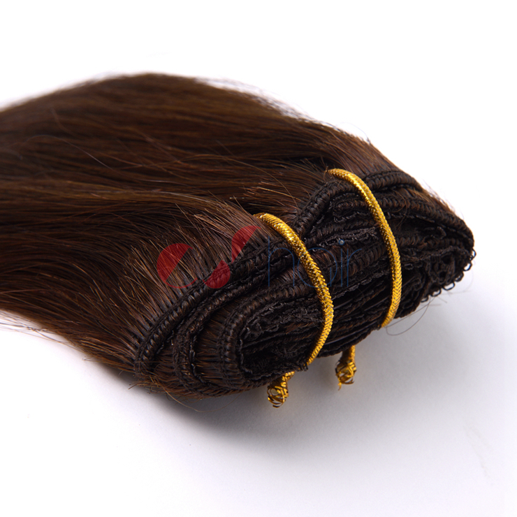 Virgin Cuticle Aligned Remy Clip In Hair Extension Color